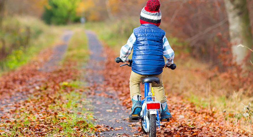 Drömmen om att lära sig cykla